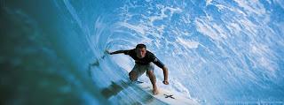 Couverture Facebook sport le surfeur
