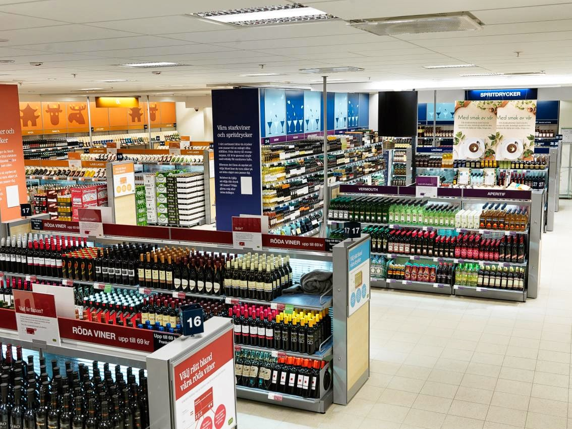 buying alcohol in sweden