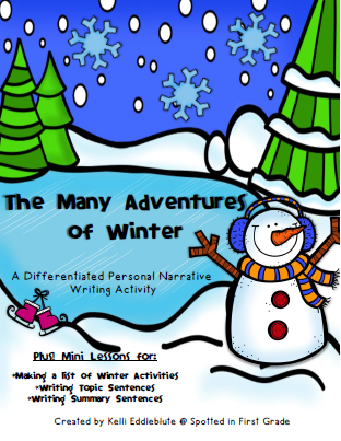 Spotted in First Grade: The Many Adventures of Winter ...