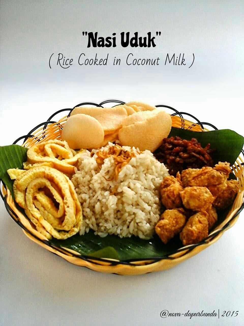 "Dapur Bunda : Enjoy Your Homemade: ""Nasi Uduk"""