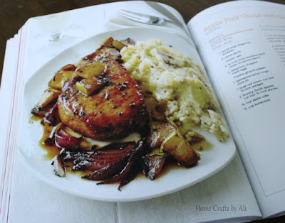 Best Light Recipes Food Network Book Review pork chop picture dinner potatoes