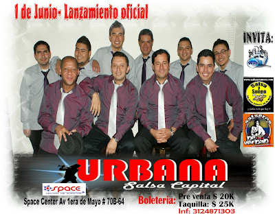 ► Lanzamiento URBANA SALSA CAPITAL En Bogotá