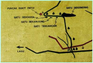 Trail Map Bukit Patoi