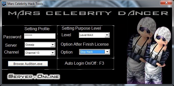 Cheats Audition Ayodance Hacks Mars Celebrity Blog Cheat