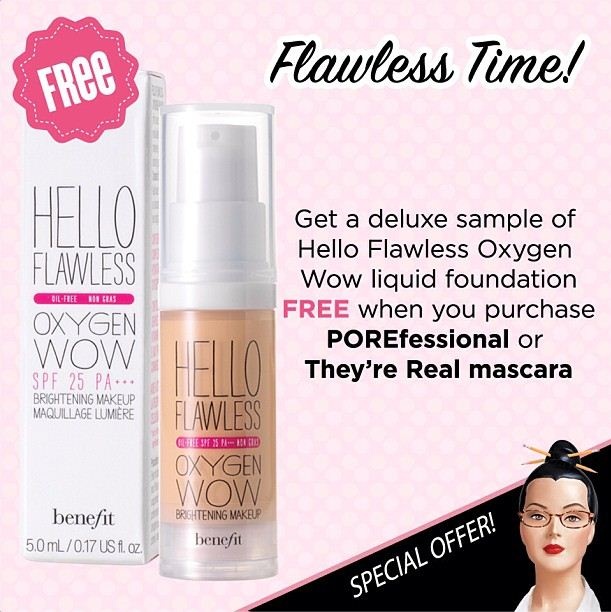EXTENDED: Flawless Time by Benefit Beauty Philippines