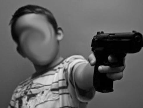 Kanak kanak 5 tahun menembak kepala adiknya yang berusia 9 bulan