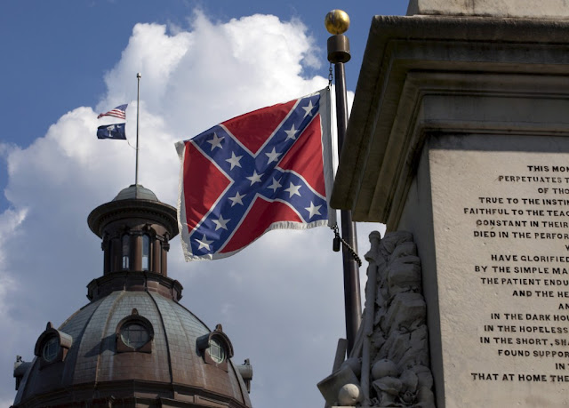 Confederate flag, Charleston, South Carolina