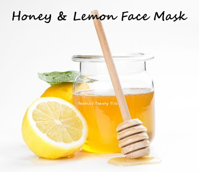 Lemon-and-honey-face-masks-barbies-beauty-bits