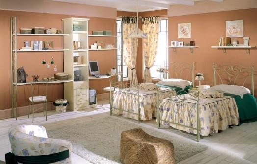 Hermosos dormitorios para dos chicas dormitorios con estilo - Muebles en dos hermanas ...
