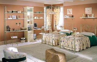 hermoso cuarto para dos chicas