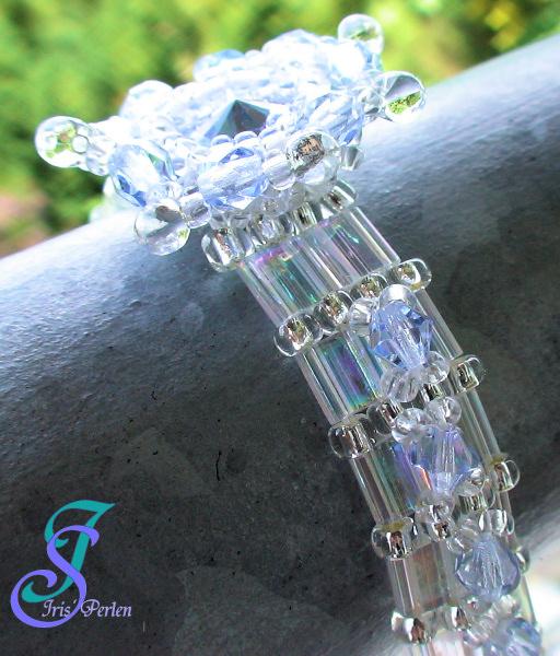rund 12 mm 20 x Böhmische Glasperlen kristall; *1554