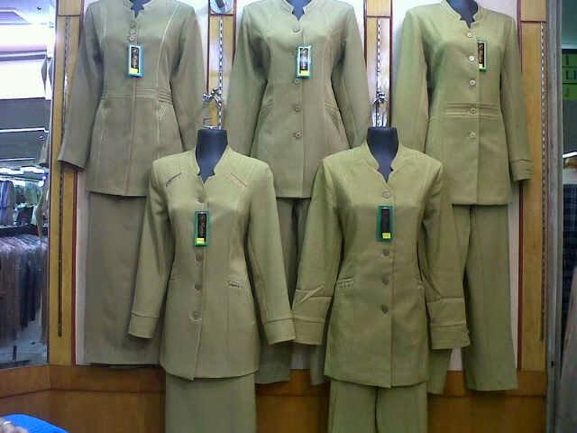 Model Baju Kerja Guru Wanita Terbaru 2016