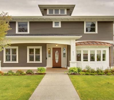 Fotos y dise os de ventanas ventanales de aluminio blanco for Colores de perfiles de aluminio