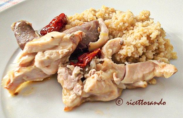 Straccetti golosi light di pollo al cartoccio e quinoa