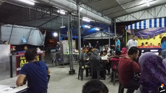 Lokasi Along Char Kue Teow Parit Buntar