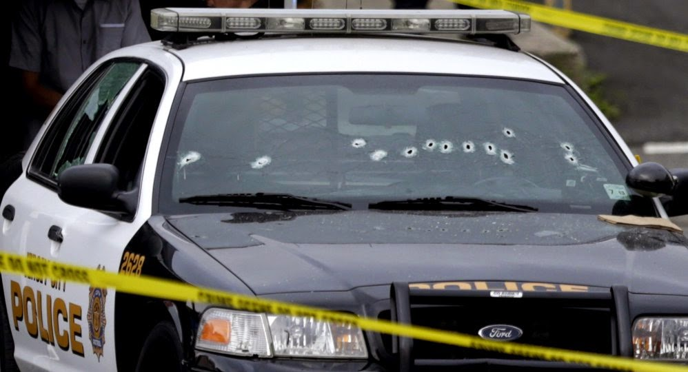 Four (Black) Cops Killed in Seven Days --Where's the Outrage?
