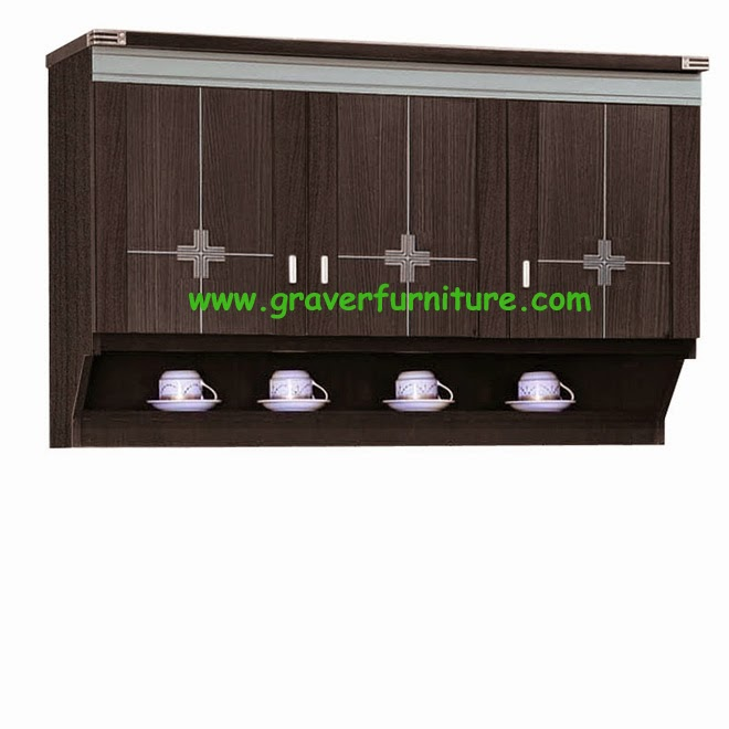 Kitchen Set Atas 3 Pintu KSA 2853 Graver Furniture