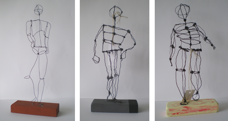Wire Figure Sculpture | Research On Easy Human Figure Of Wire Sculpture All About Art S