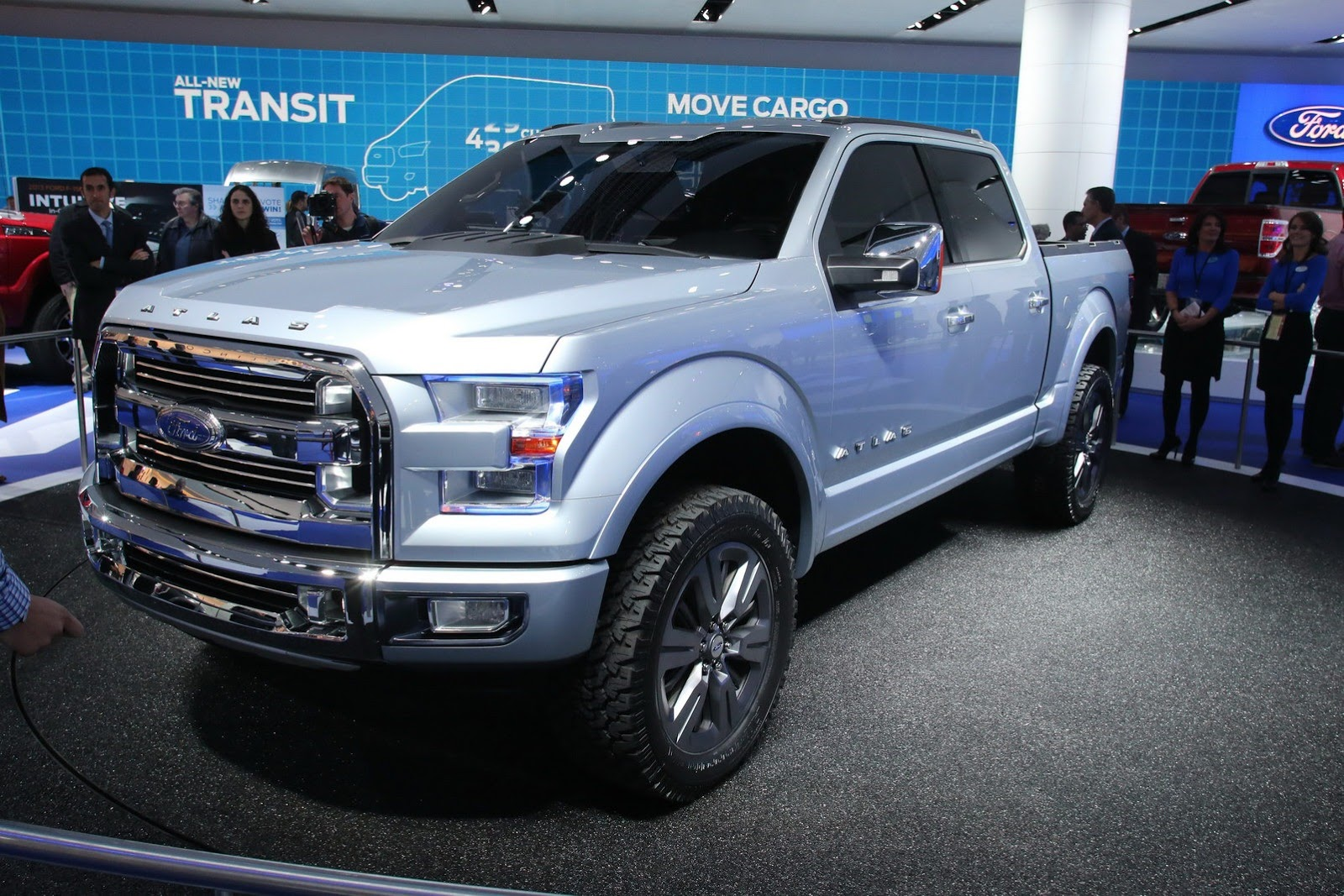 Ford Atlas Named Autoweek's Most Significant Detroit Auto Show Debut