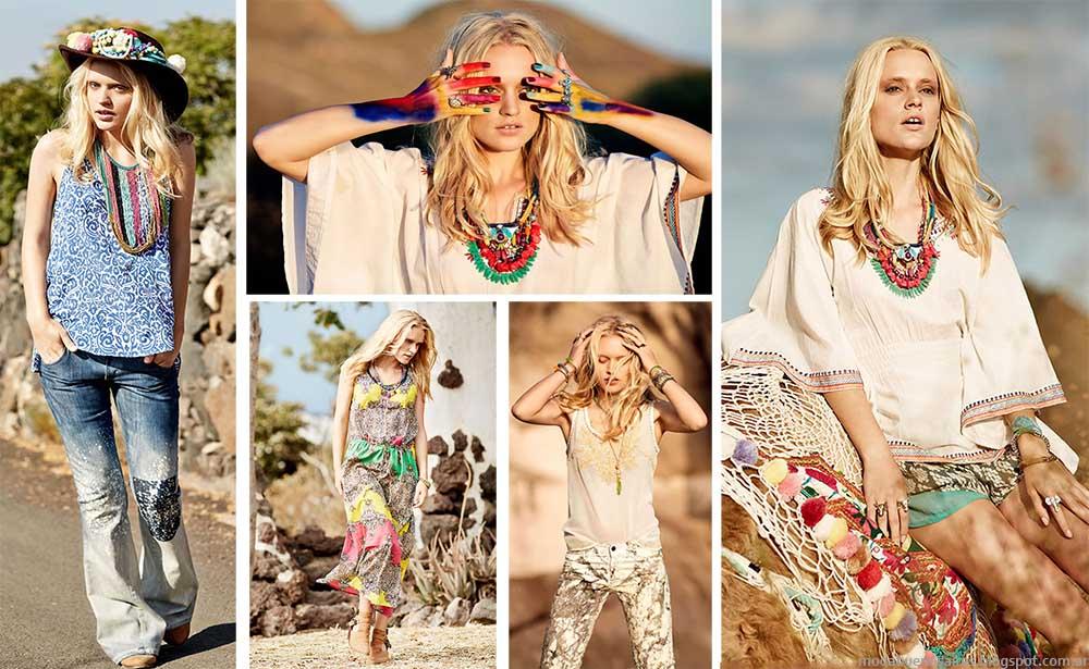 Moda primavera verano 2015 India Style. Moda 2015.