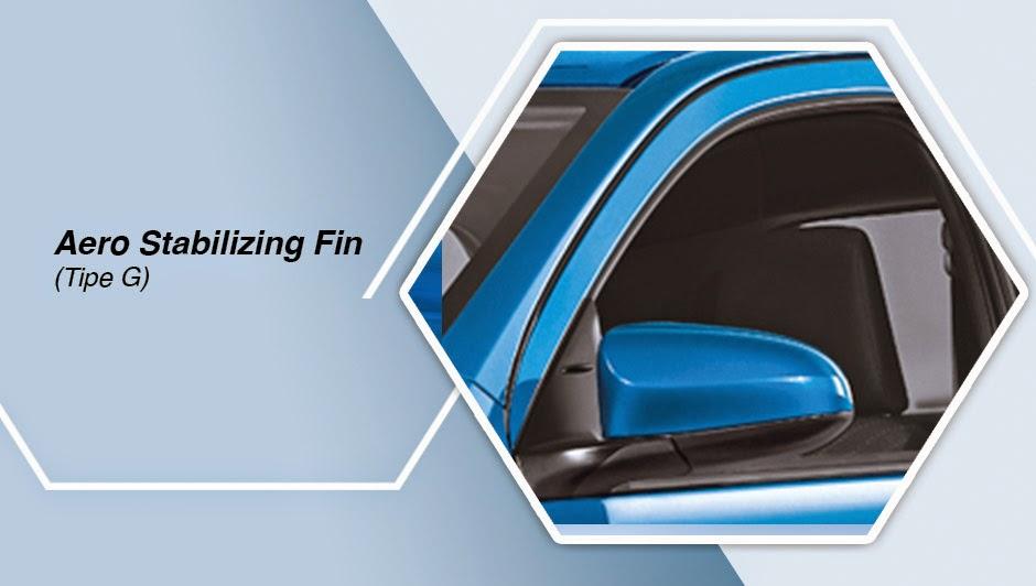 Aero Stabilizing Fin (Tipe G) etios valco