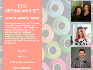 Please Join Us for a Talk During Spring Market at the Boston Design Center on April 24 at 3 pm