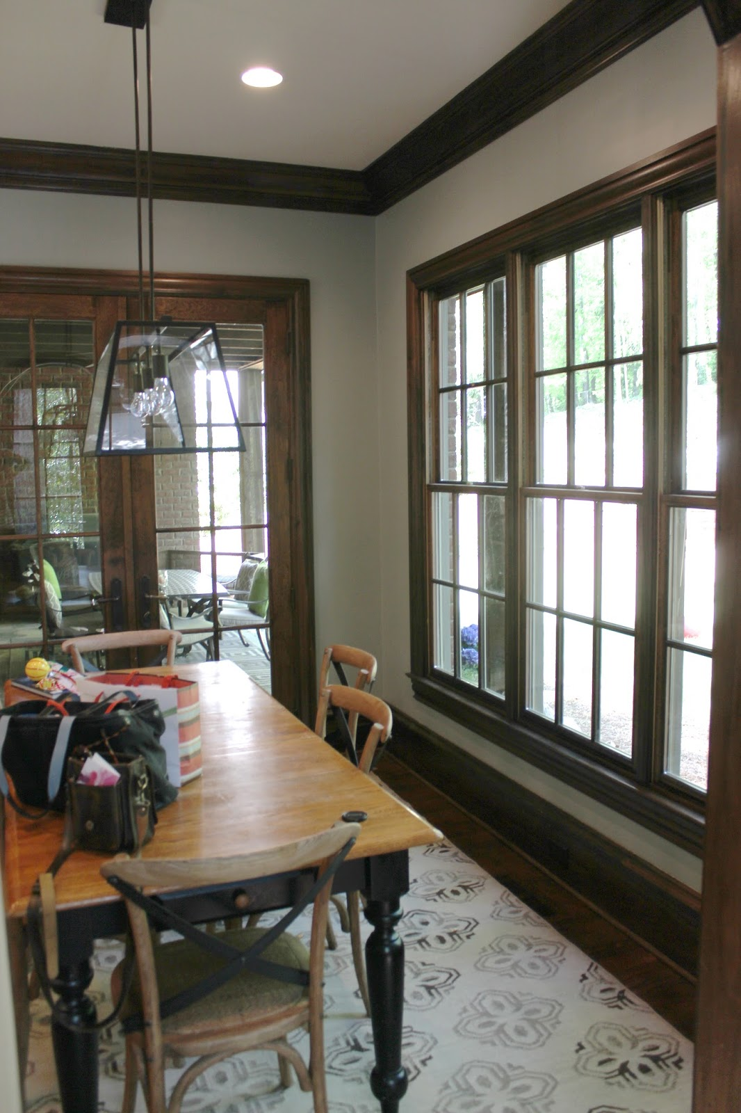 Before and after design indulgence for How to paint wood windows interior