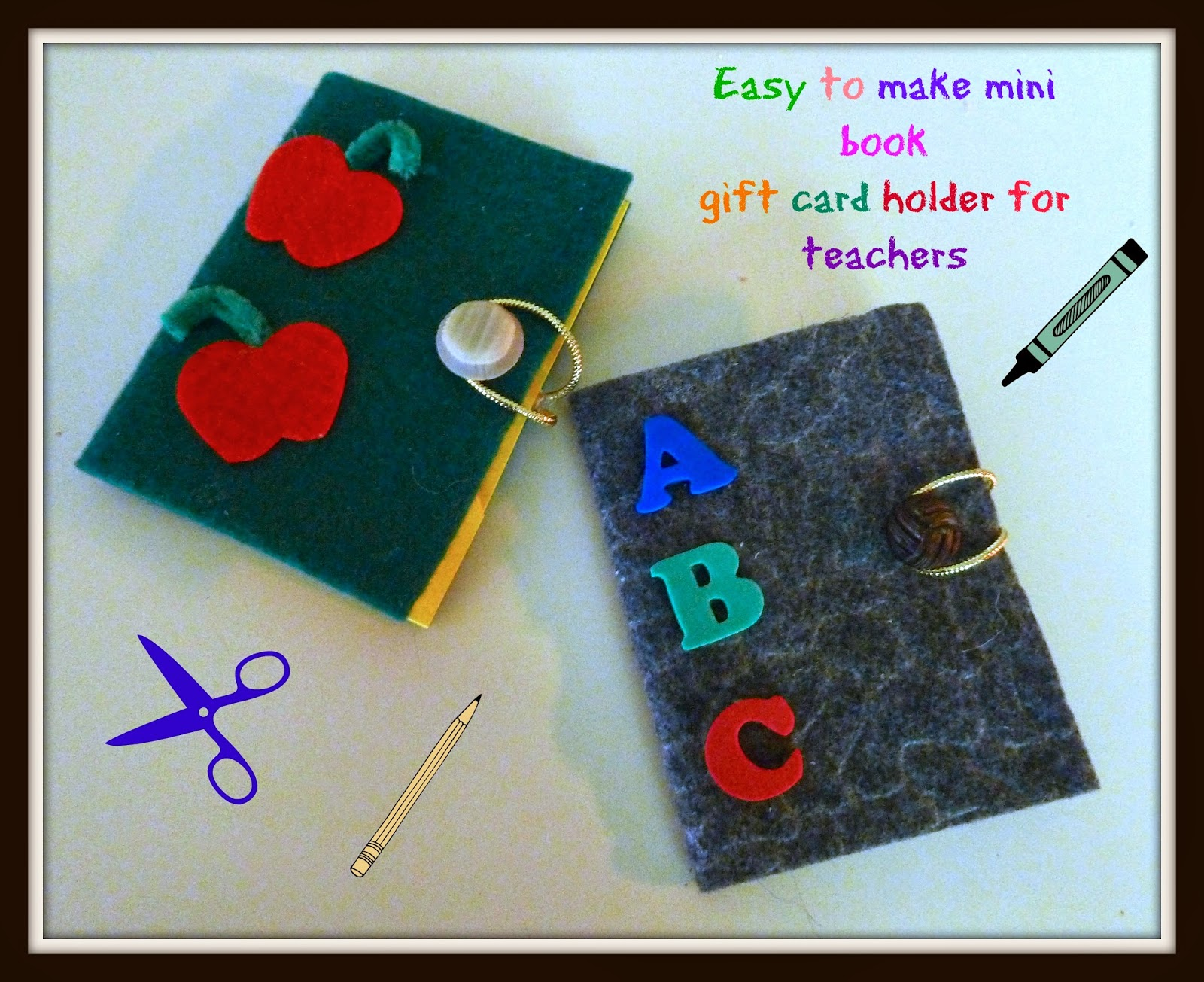 Make it easy crafts mini book gift card holder for your favorite mini book gift card holder for your favorite teacher or dad negle Choice Image