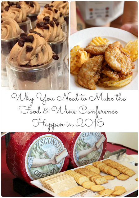 Already looking ahead to 2016 for the must-attend food blogger conferences? Come check out my 7 reasons Why You Need to Make the Food & Wine Conference Happen in 2016. #FWCon