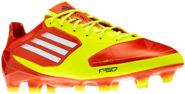 adidas f50 rojas y amarillas