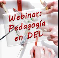Reseña sobre webinar sobre pedagogía en DEL