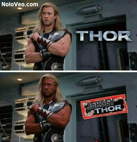 Chistes Thor: Jersey - Thor