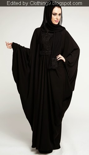 Simple Casual Abaya Designs 2015