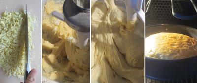 Zubereitung Weißer Schokoladenkuchen mit Kardamom