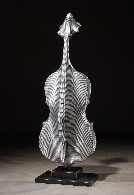 10-Cello-Park-Seung-Mo-South-Korean-Artist-&-Sculptor-Wire-Sculpture-www-designstack-co