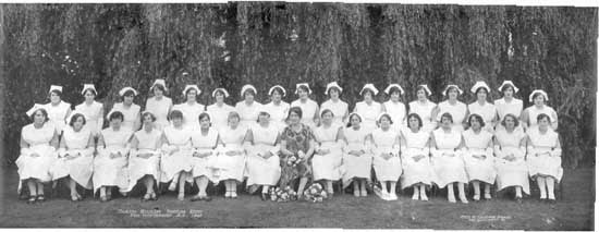 Woodlands nursing staff - 1928