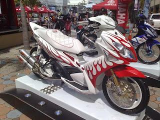 Modifikasi Yamaha Nouvo LC