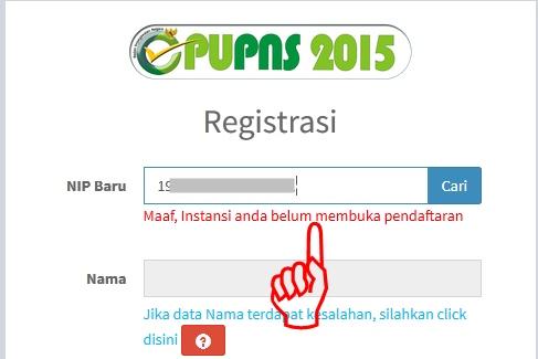 Aplikasi PUPNS  BKN Sudah Resmi Dibuka pada Hari Ini; 1 Sepetember 2015