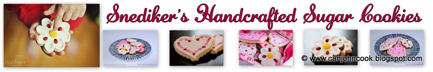Snediker's Handcrafted Sugar Cookies