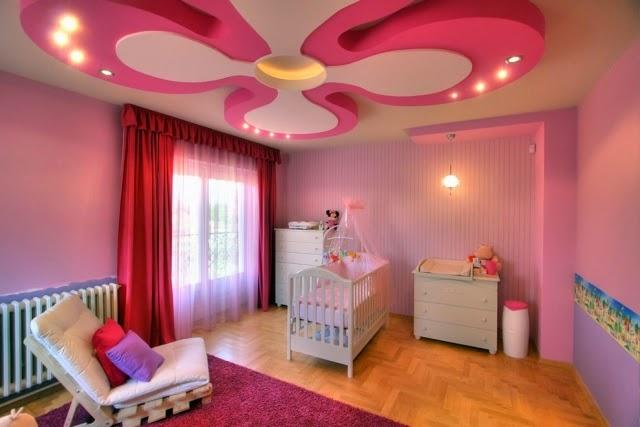 Dormitorio para beb ni a dormitorios colores y estilos - Magnificent home interior decoration using cool ceiling ideas ...
