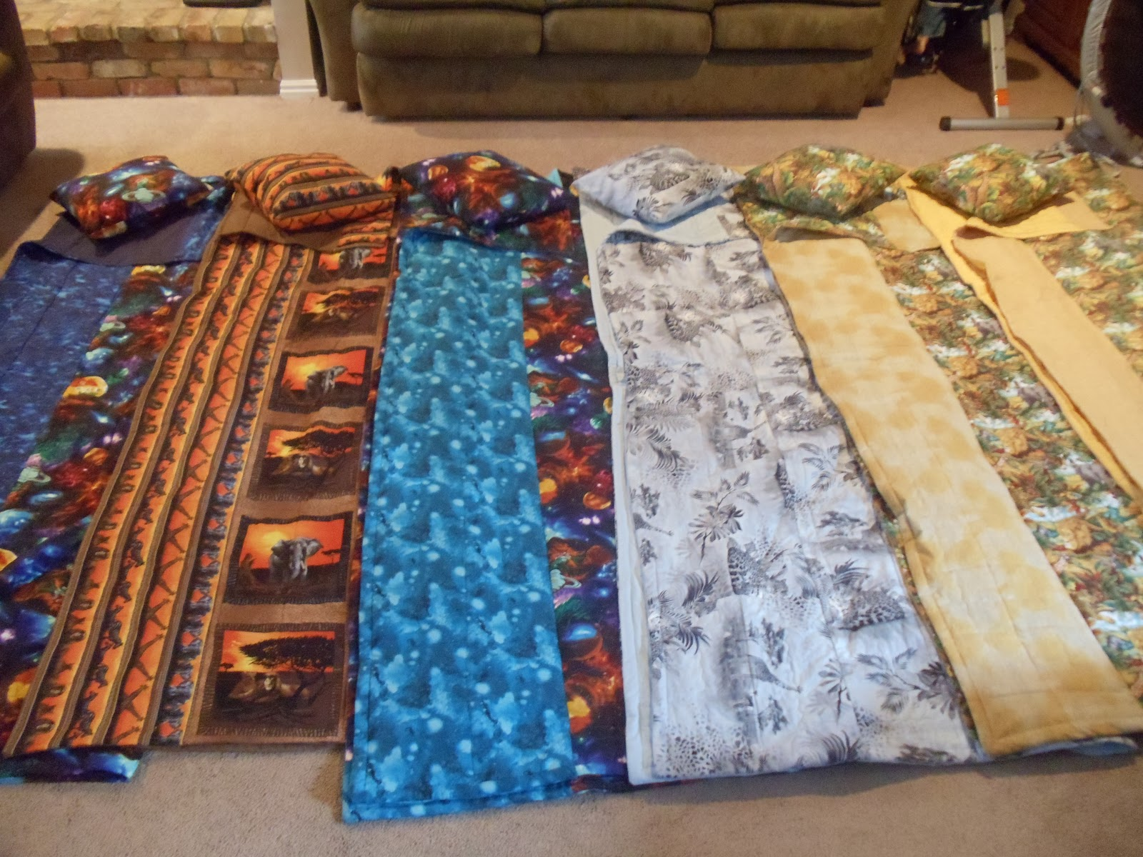 autism understanding the puzzle homemade adjustable and  -  blankets  with weighted attached pockets