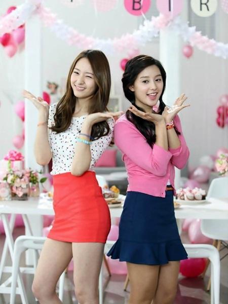 대유다 - Feed Your Hallyu Daily Needs: f(x)'s Krystal and Kim ... F(x) Krystal Heirs