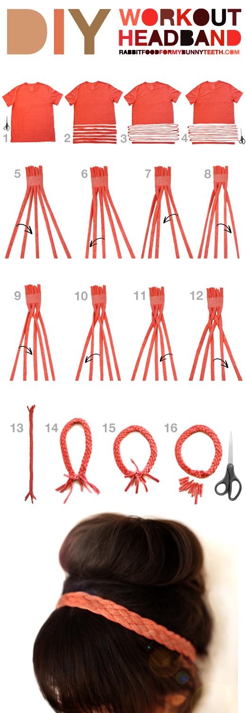Как сделать повязку для волос своими руками 31