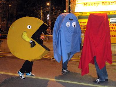 Pac Man Halloween