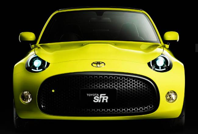 Toyota S-FR Coupe Stars In Quirky Toyota Tokyo Motor Show Line-Up