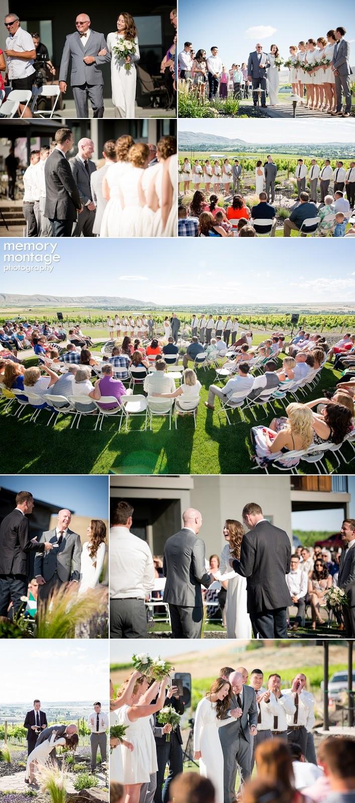 Benton City Winery Wedding, Richland Wedding Photographer, Tri-Cities Wedding Photography, Tri-Cities Wedding Photographers, Memory Montage Photography, Chic Winery Wedding, www.memorymp.com