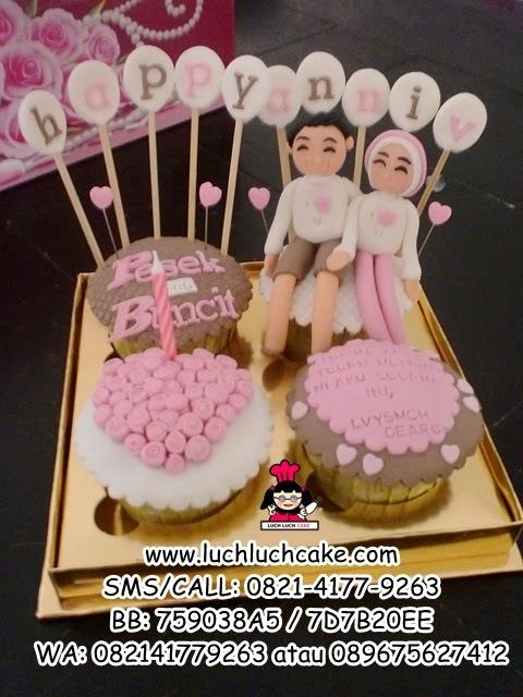 Cupcake Romantis Ulang Tahun Pacar