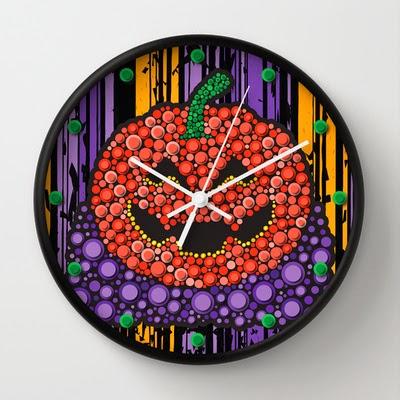 http://society6.com/enriquevalles/Pumpkin-Halloween_Wall-Clock#33=282&34=286