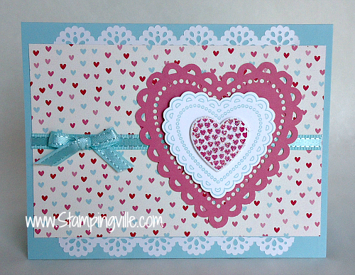 Stampin' Up! Hearts a Flutter Stamp Set