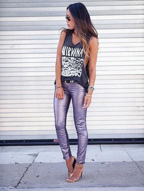 metalik-pantolon-modelleri